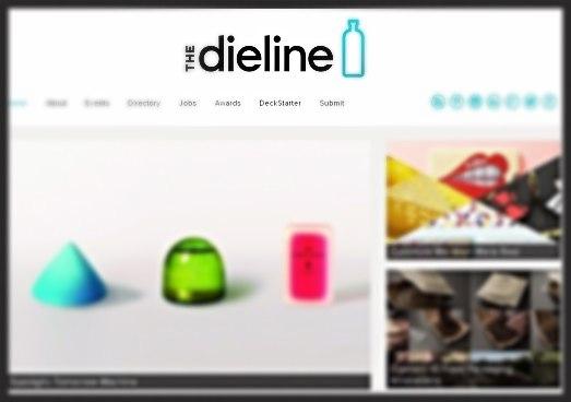 dieline blog page