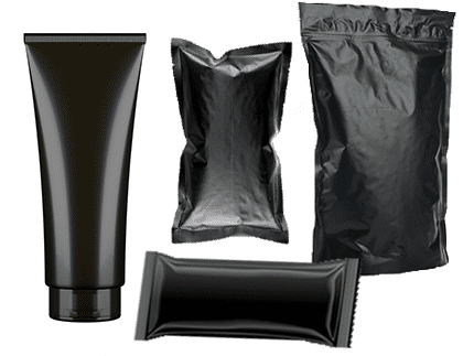 black packaging for authority and luxury