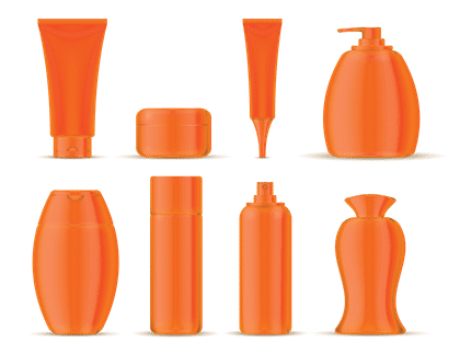orange packaging for fun and low-cost items