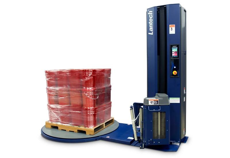 QL400-Semi-Automatic-Pallet-Wrapper