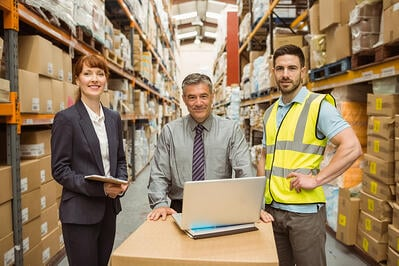 stock items in warehouse