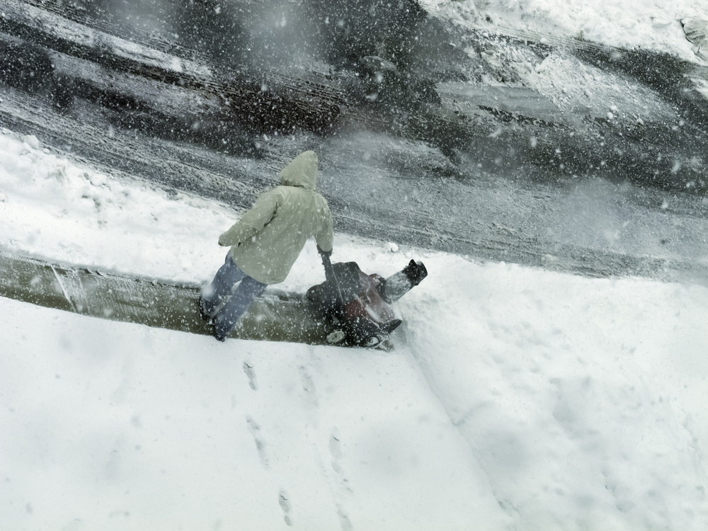 snow removal in contract packaging