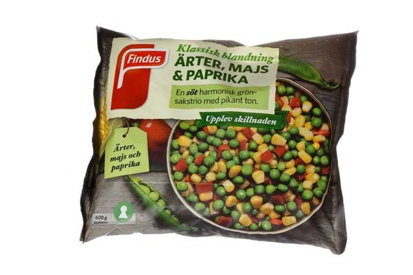 flexible bag frozen food