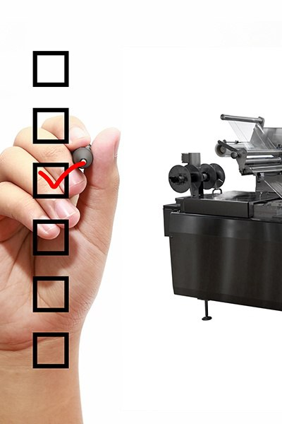 Machinery-Purchase-Checklist | Industrial Packaging Machinery