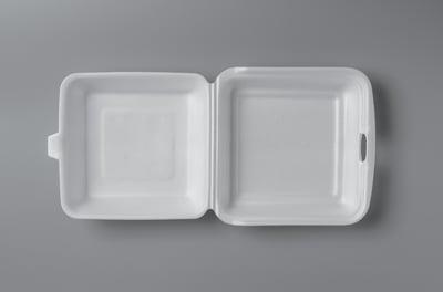 styrofoam clamshell