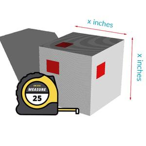 measure for bag length and ppr shrink calculator