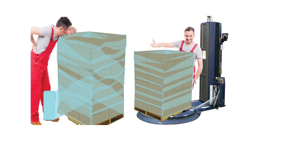 Why Hand-Wrapping Pallets is Losing You Money
